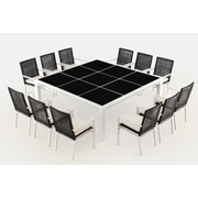 Ceets R co 13 Piece Dining Set w/ Cushions