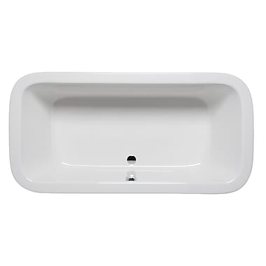 Americh Nerissa 66'' x 34'' Drop in Soaking Bathtub; Biscuit
