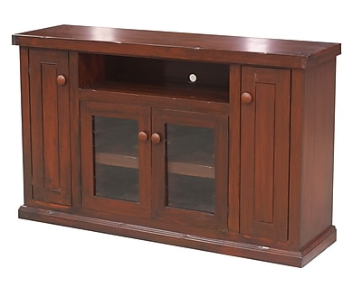 Eagle Furniture Manufacturing Calistoga 57'' TV Stand; Burnt Cinnamon