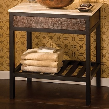 Native Trails Cuzco 30'' Single Bathroom Vanity Base; Antique Copper