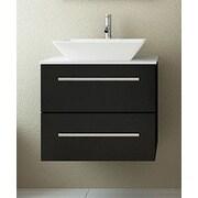 JWH Living Carina 24'' Single Wall Mounted Bathroom Vanity Set