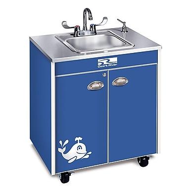 Ozark River Portable Sinks Splasher Series 26'' x 18'' Single Hand-Wash Sink