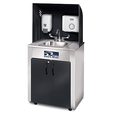 Ozark River Portable Sinks Nature Series 26'' x 18'' Single Pro Hand-Wash Sink