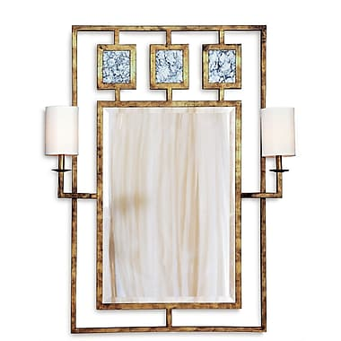 Port 68 Avenue Mirror w/ Sconces