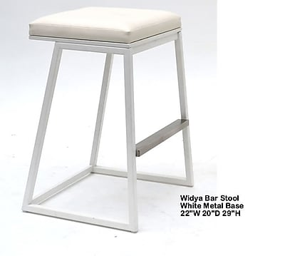 Indo Puri Widya 29.5'' Bar Stool; Brown
