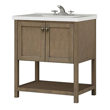 Sunny Wood Aiden Bath 30'' Bathroom Vanity Base