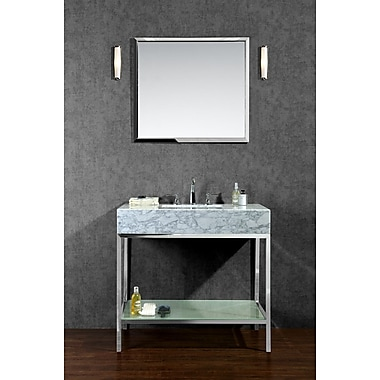 Ariel Bath Brightwater 36'' Single Bathroom Vanity Set