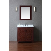 Ariel Bath Turnberry 36'' Single Bathroom Vanity Set w/ Mirror
