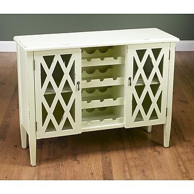 AA Importing Bar Cabinet w/ Wine Storage