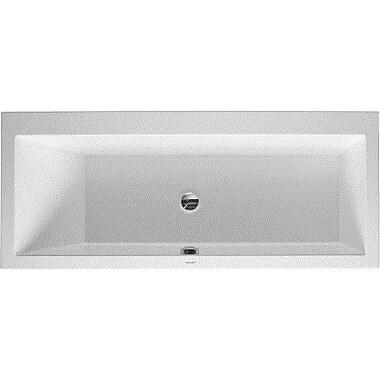 Duravit Vero 67'' x 30'' Soaking Bathtub; Left