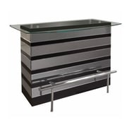 Sharelle Furnishings Mera Bar Counter; Black