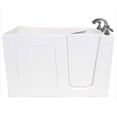 Ariel Bath 60'' x 30'' Whirlpool Bathtub; Right