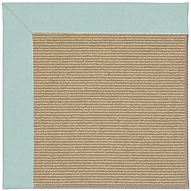 Capel Zoe Machine Tufted Blue/Brown Indoor/Outdoor Area Rug; Round 12' x 12'