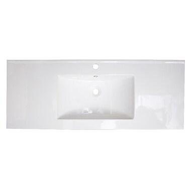 American Imaginations Roxy Drop-in 48'' Single Bathroom Vanity Top
