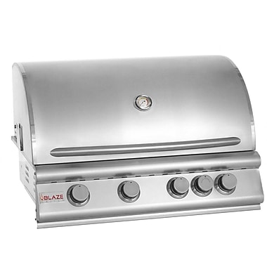 Blaze Grills 4-Burner Built-In Propane Gas Grill; Propane