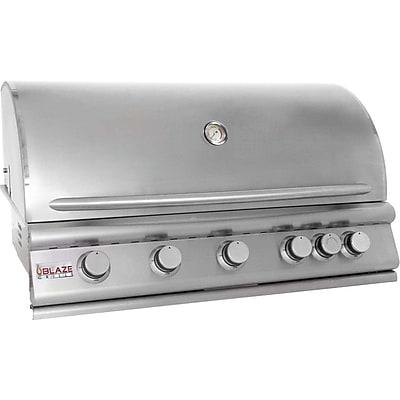 Blaze Grills 5-Burner Built-In Convertible Gas Grill; Propane