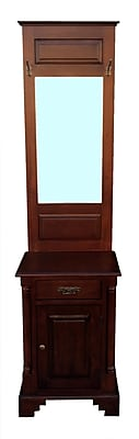 D-Art Collection Hamstead Hall Stand 1 Drawer 1 Door Accent Cabinet