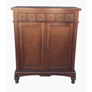 D-Art Collection Colonial Apothecary Storage Accent Cabinet