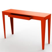 MG FRENCH DESIGN ZEF Console Table with Drawer; Orange