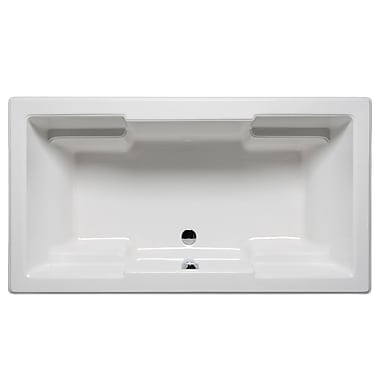 Malibu Home Inc. Laguna 60'' x 42'' Whirlpool; White