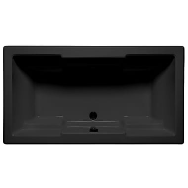 Malibu Home Inc. Laguna 60'' x 36'' Whirlpool; Black