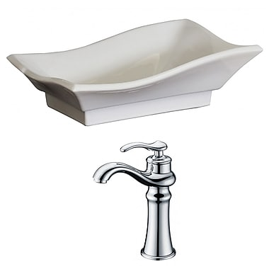 American Imaginations Specialty Vessel Bathroom Sink