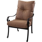 K B Patio Santa Anita Patio Dining Chair w/ Cushion