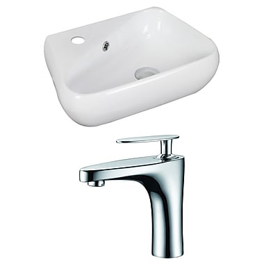 American Imaginations Specialty Vessel Bathroom Sink w/ Overflow