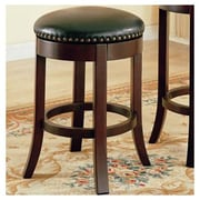 Wildon Home   Perris 24'' Bar Stool w/ Cushion (Set of 2)