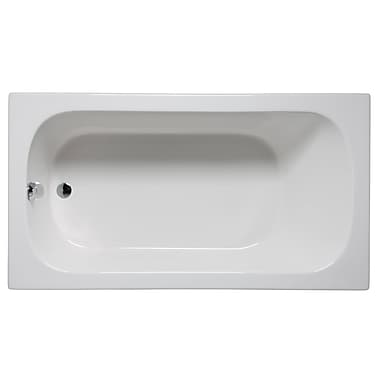 Malibu Home Inc. Sanibel 72'' x 36'' Soaking Bathtub; White
