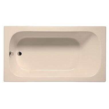 Malibu Home Inc. Sanibel 60'' x 30'' Soaking Bathtub; Almond