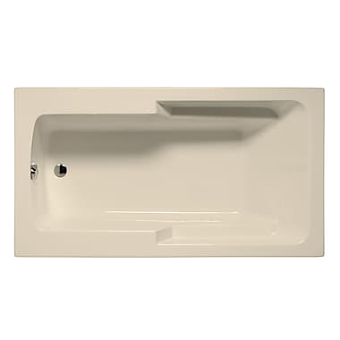 Malibu Home Inc. Coronado 60'' x 36'' Air Jet Bathtub; Biscuit