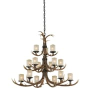 Vaxcel Yoho 15-Light Candle-Style Chandelier
