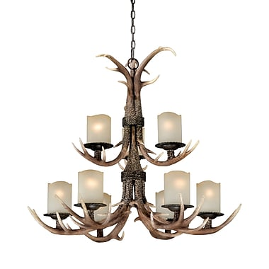 Vaxcel Yoho 9-Light Candle-Style Chandelier