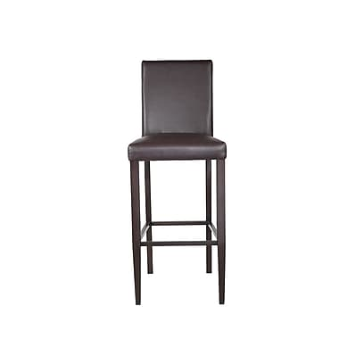 JUSTCHAIR Bar Stool; Espresso
