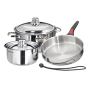 Magma Products Stainless Steel 7 Piece Cookware Set