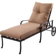 K B Patio Santa Anita Chaise Lounge w/ Cushions