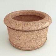 TerraCastProducts Californian Resin Pot Planter; Indian Sandstone