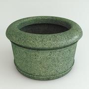 TerraCastProducts Californian Resin Pot Planter; Verdi Granite