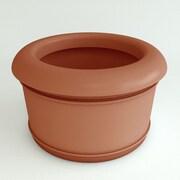 TerraCastProducts Californian Resin Pot Planter; Terracotta