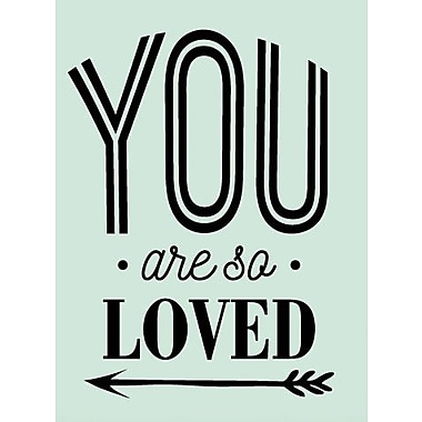 SweetumsWallDecals You Are So Loved Wall Decal; Black