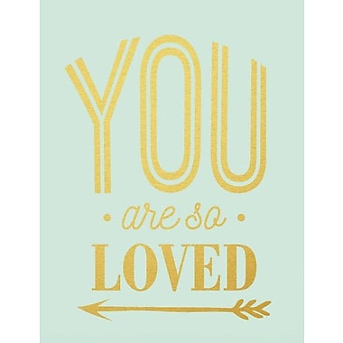 SweetumsWallDecals You Are So Loved Wall Decal; Gold
