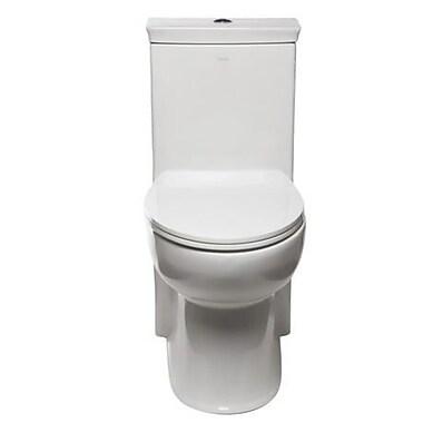 EAGO 1.28 GPF Elongated One-Piece Toilet