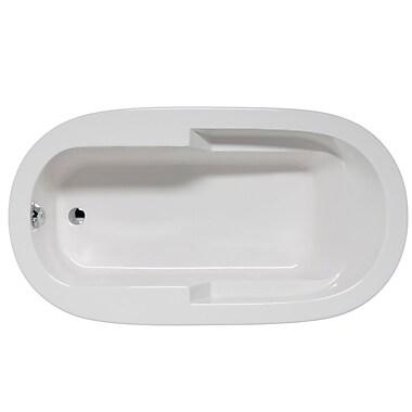 Malibu Home Inc. Marco 66'' x 36'' Soaking Bathtub; White
