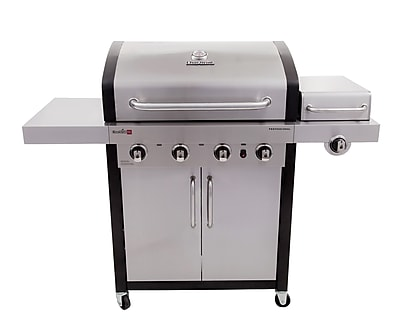 CharBroil Signature InfraRed 4-Burner Propane Gas Grill w/ Cabinet