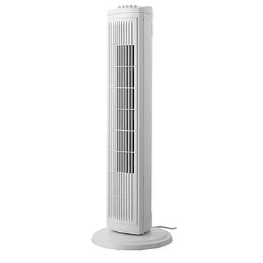 Sharper Image 30'' Oscillating Tower Fan; White
