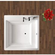Aquatica Lacus 70'' x 70'' Soaking Bathtub