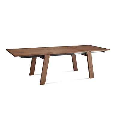 Domitalia Must-xl Extendable Dining Table; Walnut