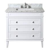 KBC Eleanor 36'' Single Bathroom Vanity Set; White
