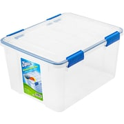 ZIPLOC Weathershield Storage Box; 44 Quart